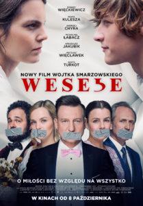 "Plakat filmu ""Wesele"""